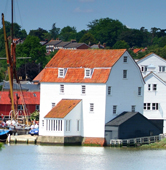Fairtrade Logo With Woodbridge Tide Mill